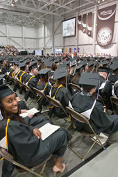 Doctoral and Master's Ceremony - Spring 2013 Commencement