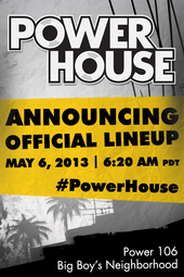 PowerHouse Full Lineup Announced!