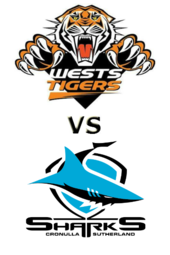 Tigers vs. Sharks
