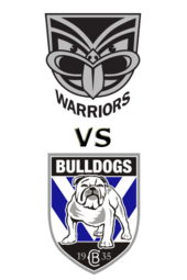 Warriors vs. Bulldogs