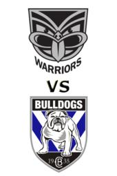 Warriors vs. Bulldogs
