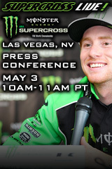 Supercross LIVE! Las Vegas Press Conference - May 3