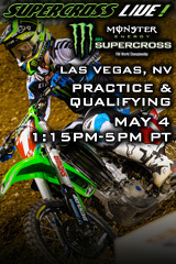 REPLAY - Las Vegas 5/4/13 - Supercross LIVE!