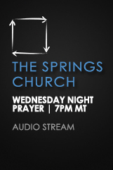 Wednesday Night Prayer – Audio Stream