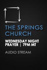 Wednesday Night Prayer – Audio Stream