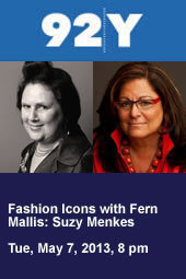 Fashion Icons with Fern Mallis: Suzy Menkes