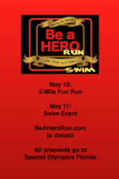 """Be a Hero"" Run & Swim"