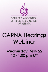 CARNA Hearings Webinar