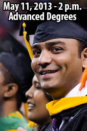 176th Commencement - Advanced Degrees