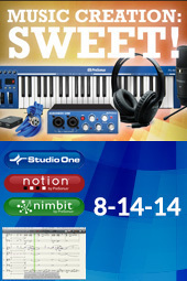 Music Creation: SWEET!