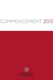 Sacred Heart Commencement 2013