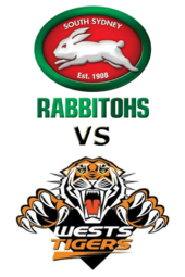 Rabbitohs vs. Tigers