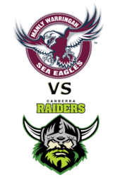 Sea Eagles vs. Raiders