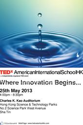 TEDxAmericanInternationalSchoolHK