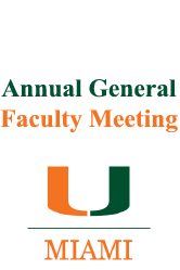 Annual General Faculty Meeting