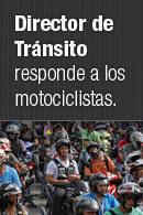 Director de tránsito responde a los motociclistas