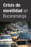 Crisis de movilidad en Bucaramanga