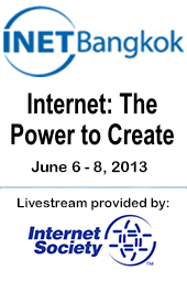 INET Bangkok: Internet: The Power to Create