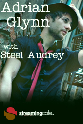 Adrian Glynn with Steel Audrey