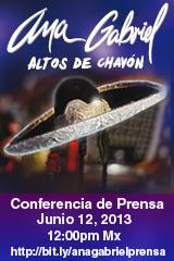 Ana Gabriel - Conferencia de Prensa