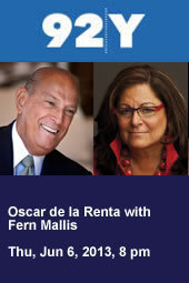 Oscar de la Renta with Fern Mallis