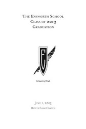 Ensworth High School 2013 Graduation