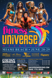 Fitness Universe Weekend 2013
