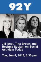 Jill Iscol, Tina Brown and Reshma Saujani on Social Activism Today