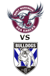 Sea Eagles vs. Bulldogs