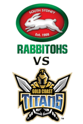Rabbitohs vs. Titans