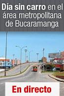 Día sin carro en el área metropolitana de Bucaramanga