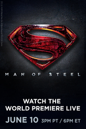 MAN OF STEEL World Premiere