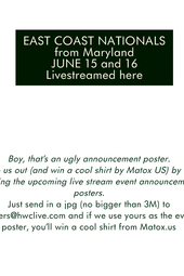 East Coast Nationals USA BMX live stream