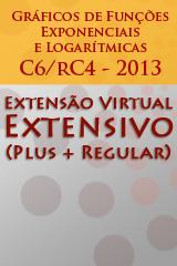 Extensivo - Gráficos de Funções Exponenciais e Logarítmicas - C6/rC4