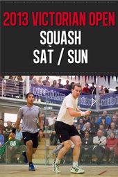 2013 Victorian Squash Open