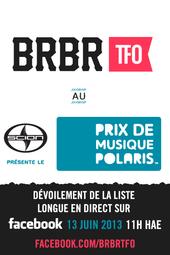BRBR au Scion présente le Prix de musique Polaris