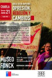 """Charla """"Siglo 20 en Rapa Nui: opresión, rebelión y cambios"""""""