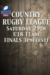 Country Rugby League -Final