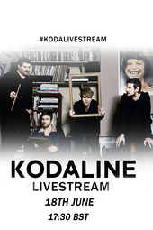Kodaline 'In A Perfect World' Livestream