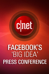 Facebook's 'big idea' press conference