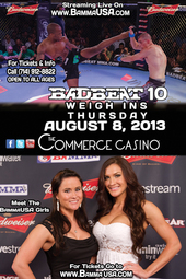 Badbeat 10 Weigh Ins