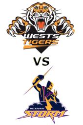 Tigers vs. Storm