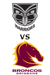 Warriors vs. Broncos