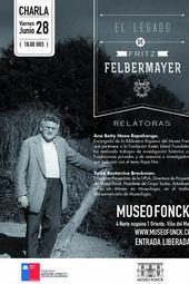 """Charla """"El legado de Fritz Felbermayer"""""""