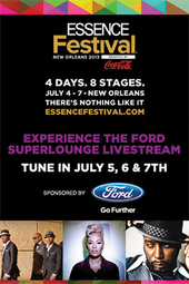 ESSENCE Festival™ Livestream from the Ford Superlounge