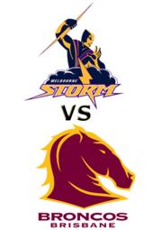 Storm vs. Broncos