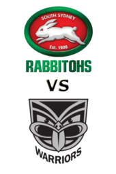 Rabbitohs vs. Warriors