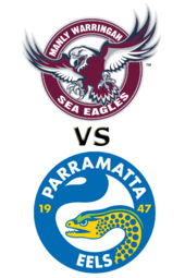 Sea Eagles vs. Eels
