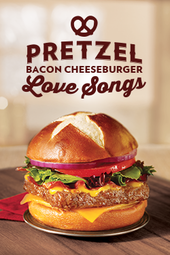 Pretzel Bacon Cheeseburger