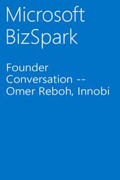 Founder Conversation -- Omer Reboh, Innobi